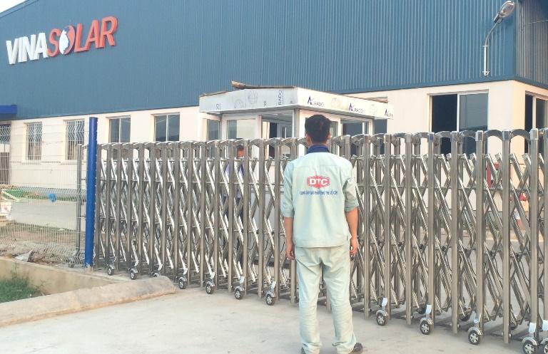 sửa chữa cổng xếp điện tự động tại Hà Nội