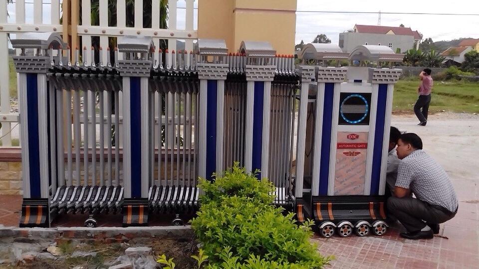 Sửa chữa motor (động cơ) cổng xếp điện tự động
