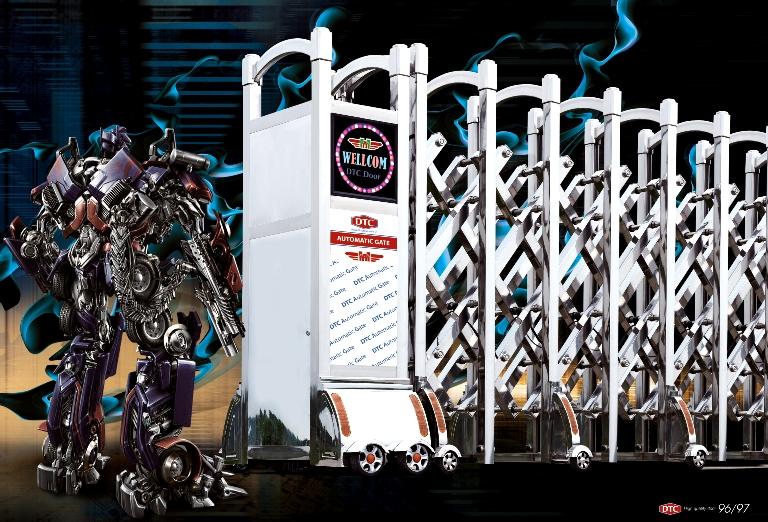 mẫu cổng xếp hiện đại